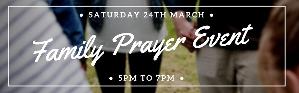 Family Prayer Event